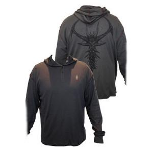Tričko Diablo III s kapucí