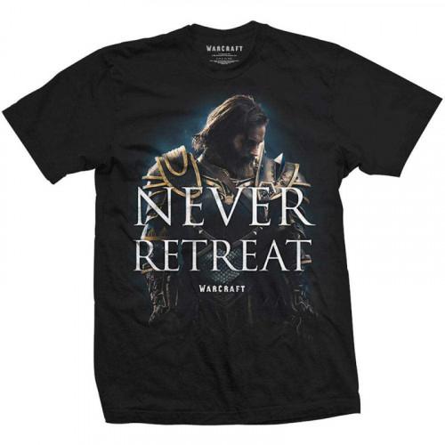 Tričko World of Warcraft - Never Retreat