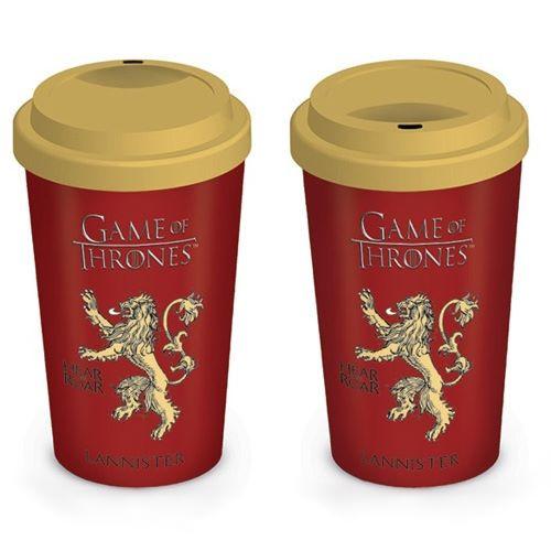 Cestovní hrnek Game of Thrones - Lannister