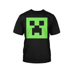 Tričko Minecraft - Creeper dětské (svítící)