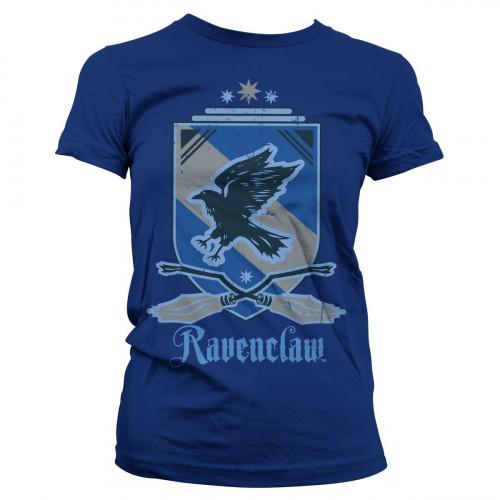 Fantasyobchod Dámské tričko Harry Potter - Znak Havraspáru, barva modrá, velikost L