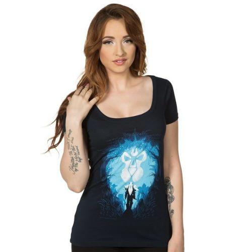 Dámské tričko World of Warcraft - Alliance Silhouette
