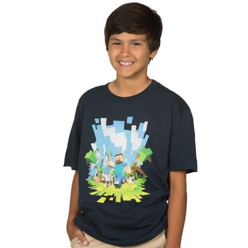 Dětské tričko Minecraft Adventure