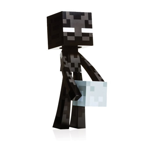 Figurka Minecraft - Enderman s kostičkou