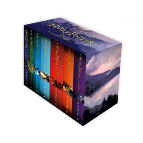 Harry Potter Box Set (anglický, brožovaný) - J. K. Rowlingová
