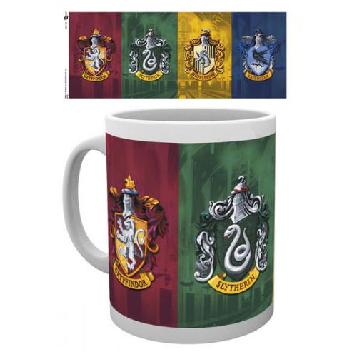 GB eye Hrnek Harry Potter - znaky bradavických kolejí 315ml