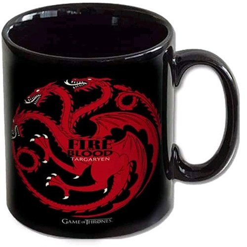 Hrnek Game of Thrones - Targaryen Fire and Blood