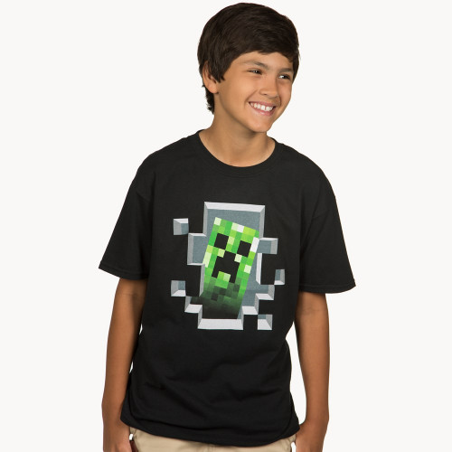 Dětské tričko Minecraft Creeper Inside
