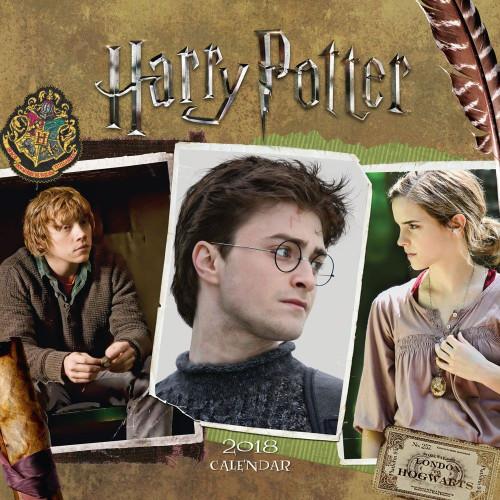 Kalendář Harry Potter 2018