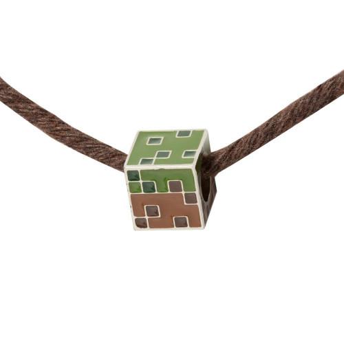 Kouzelný korálek Minecraft - Grass Block