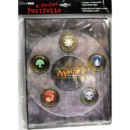 Magic the Gathering: 9 Pocket Portfolio Ultra Pro Mana Symbol