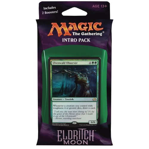 Magic: The Gathering - Eldritch Moon Intro Pack: zelený