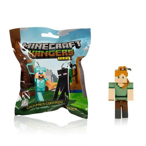 Minecraft - sběratelské přívěsky na klíče (sada 1)