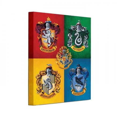 Pyramid International Obraz Harry Potter - Znaky Kolejí