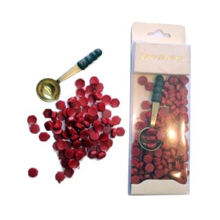 Fantasyobchod Pečetní vosk - granule + lžička