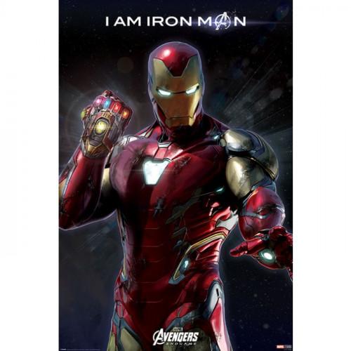 Pyramid International Plakát Avengers: Endgame - I Am Iron Man