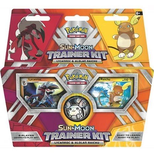 Pokémon: Sun and Moon Trainer Kit - Lycanroc & Alolan Raichu