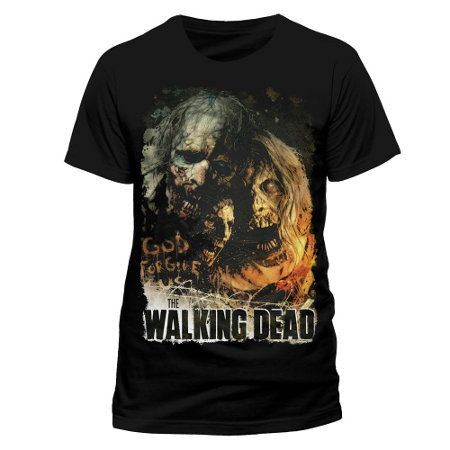Tričko Walking Dead - Poster