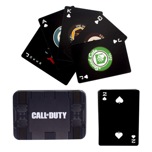Hrací karty Call of Duty