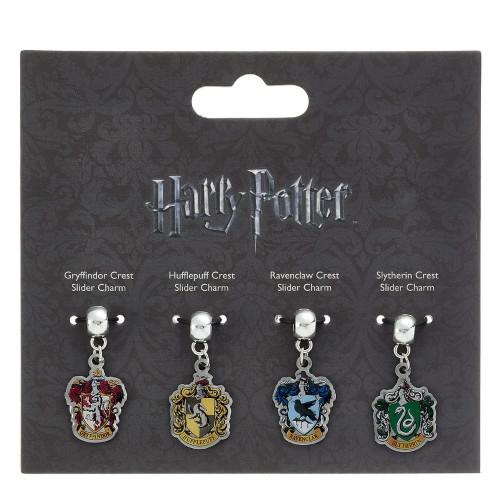 Sada přívěsků Harry Potter - znaky bradavických kolejí