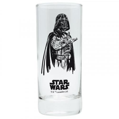 CurePink Sklenice Star Wars/Hvězdné války: Darth Vader 290 ml
