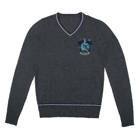 Cinereplicas Svetr Harry Potter - Znak Havraspáru, barva šedá, velikost L
