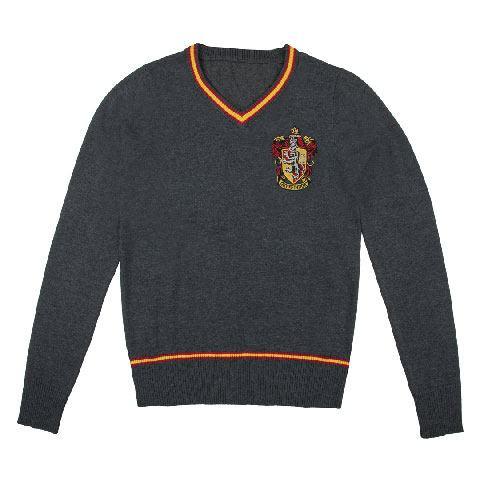 Cinereplicas Svetr Harry Potter - Znak Nebelvíru, barva šedá, velikost S