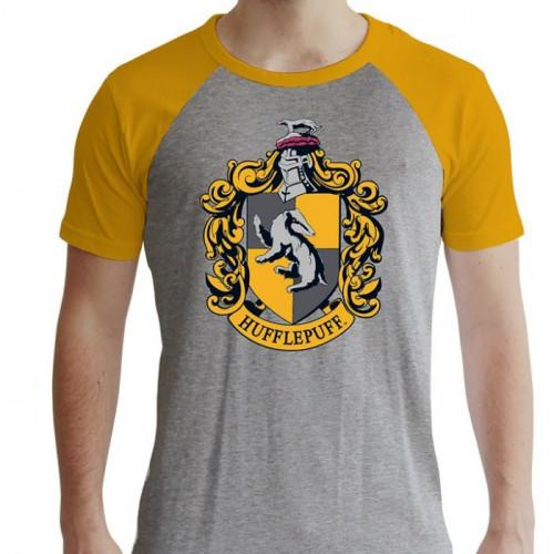ABYstyle Tričko Harry Potter - Mrzimor, raglánový rukáv, barva šedá, velikost XL