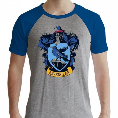ABYstyle Tričko Harry Potter - Znak Havraspáru, barva šedá, velikost XL