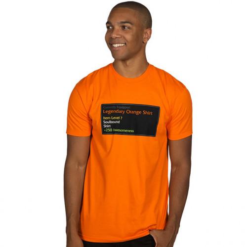 Tričko World of Warcraft - Legendary Orange Shirt