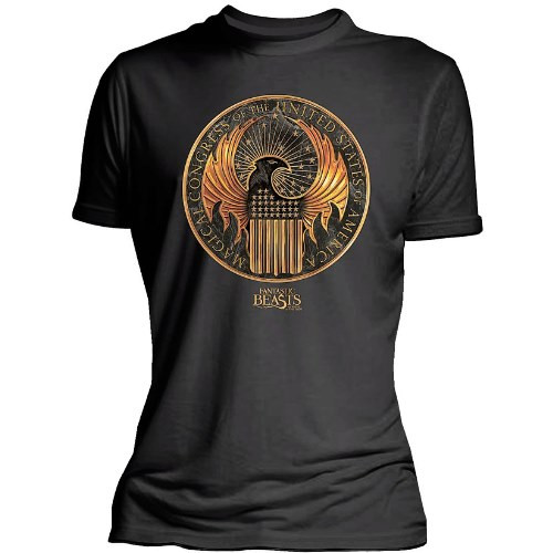 Dámské tričko Fantastická zvířata - Magický kongres Spojených států amerických
