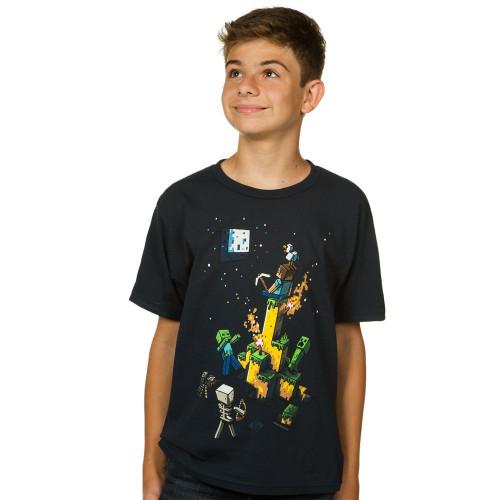 Dětské tričko Minecraft Tight Spot