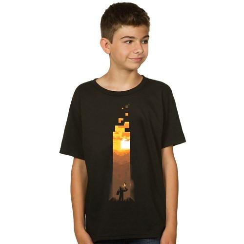 Tričko Minecraft Torch (dětské)