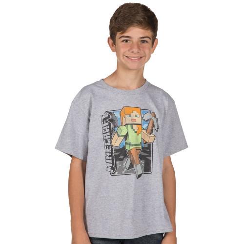 Dětské tričko Minecraft Vintage Alex