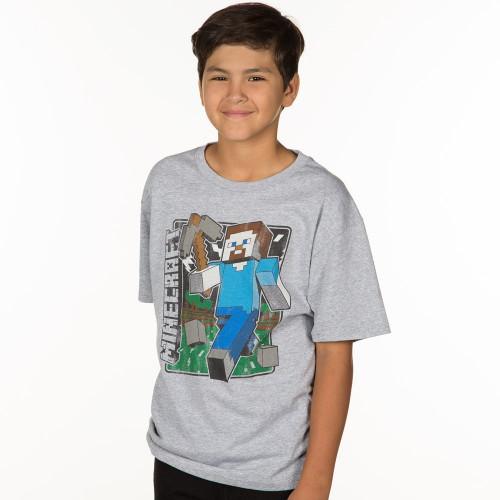 Dětské tričko Minecraft Vintage Steve