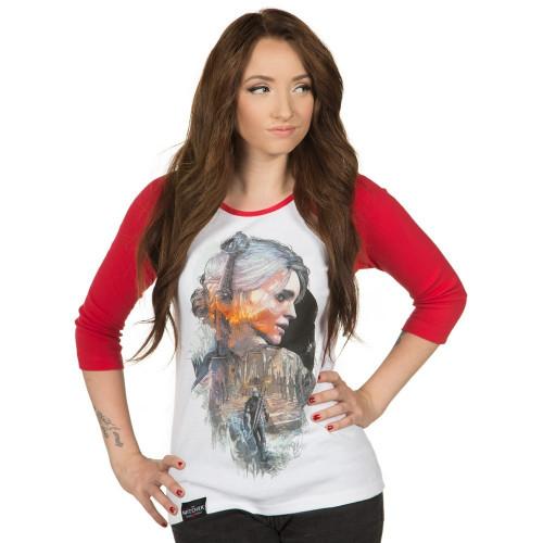 Tričko Zaklínač 3: Ciri - dámské, dlouhé rukávy