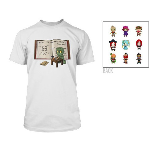 Tričko League of Legends - Amumu Voodoo Doll