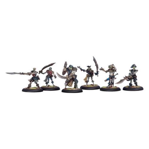 Warmachine: Cryx - Revenant Crew of the Atramentous Squad