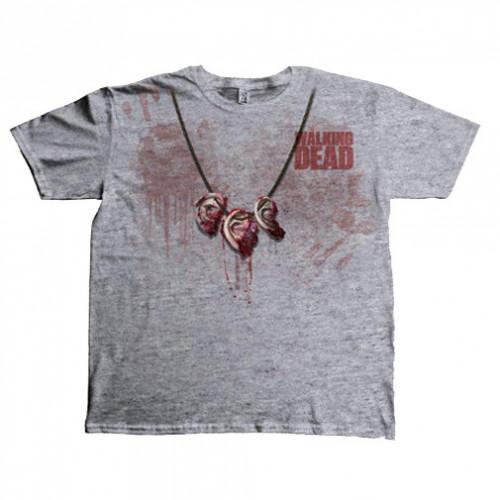 Tričko Walking Dead - Dixon Ear Necklace