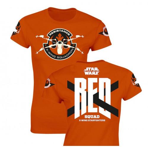 Tričko Star Wars - Red Squad (dámské)