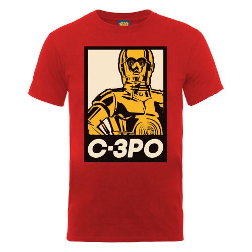 Tričko Star Wars - C-3PO - plakát