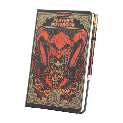 Paladone Zápisník Dungeons & Dragons A5