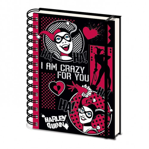Pyramid International Zápisník Harley Quinn - I Am Crazy For You A5