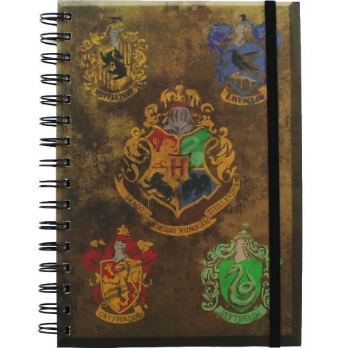 Pyramid International Zápisník Harry Potter - Bradavické znaky A5
