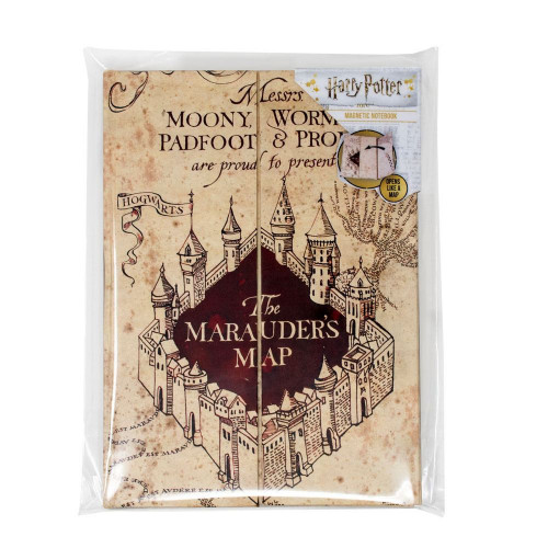 Fantasyobchod Zápisník Harry Potter - Pobertův plánek, magnetický A5