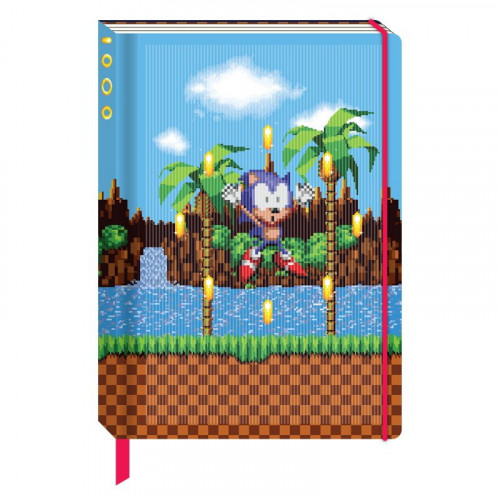 Half Moon Bay Zápisník Sonic The Hedgehog - Rings A5