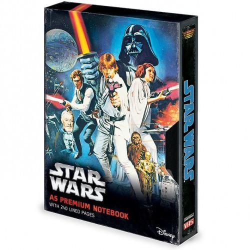 Pyramid International Zápisník Star Wars: A New Hope VHS A5