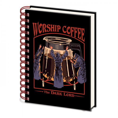 Pyramid International Zápisník Steven Rhodes - Worship Coffee A5