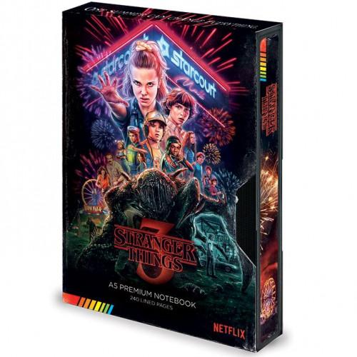 Pyramid International Zápisník Stranger Things S3 VHS A5