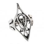 Elrondův prsten - stříbrná barva